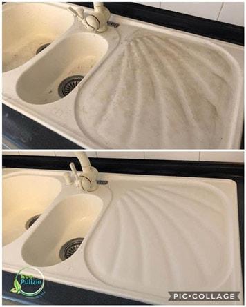 Pulizia lavello cucina Modena