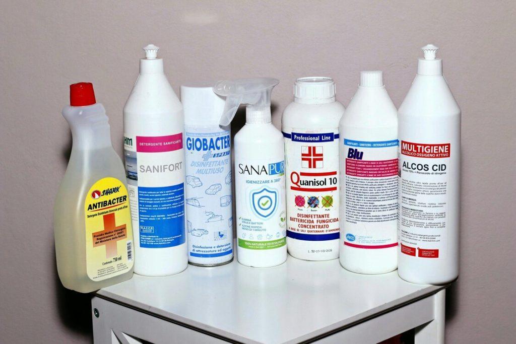 Prodotti Disinfettanti Sanificanti