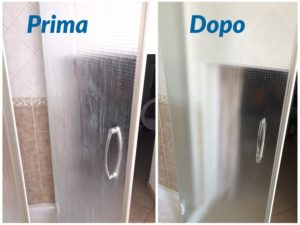 pulire box doccia maranello