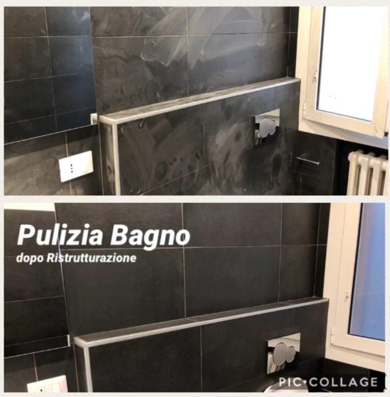 pulizia bagno post lavori modena