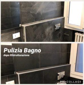 pulizia bagno post lavori nonantola