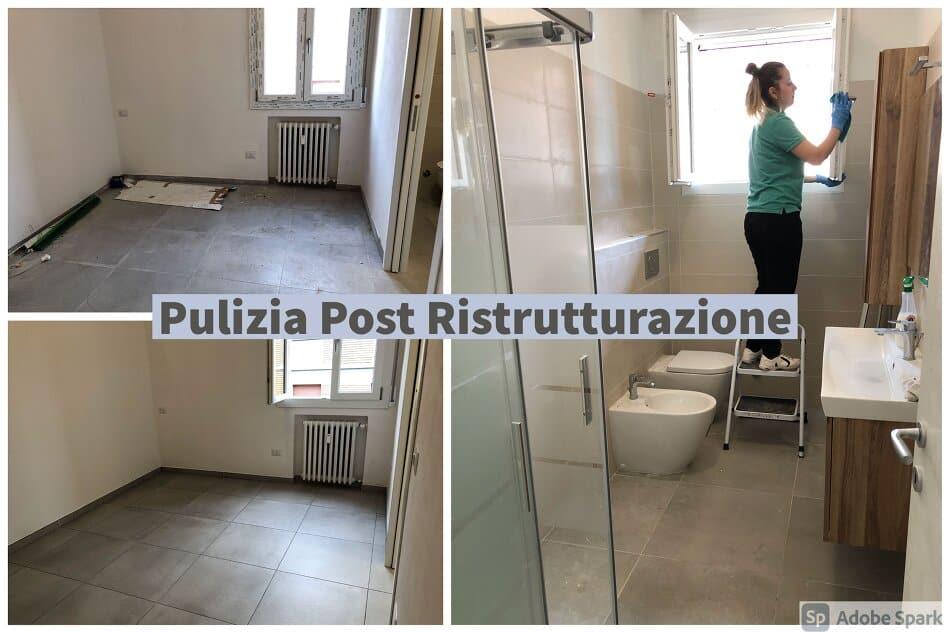 pulizia post lavori Bologna