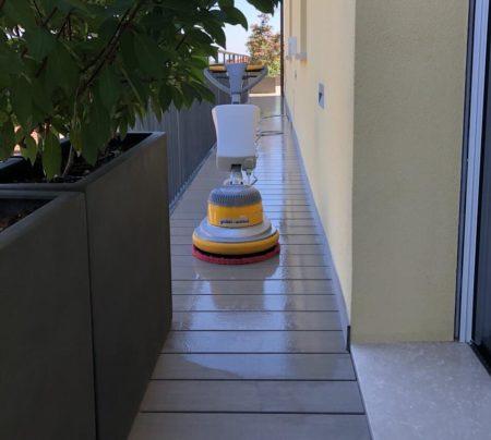pulizia terrazzo bologna