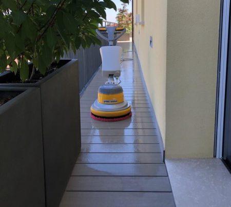 pulizia terrazzo maranello