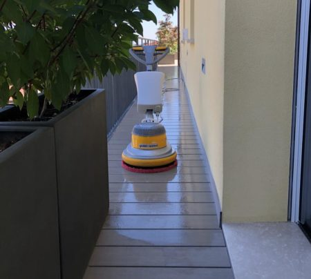 pulizia terrazzo modena