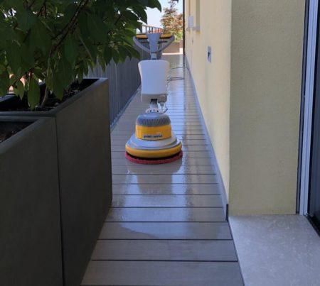 pulizia terrazzo nonantola