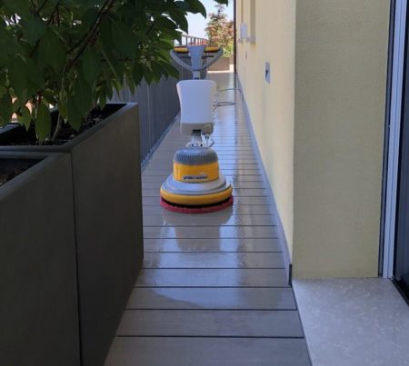 pulizia terrazzo parma