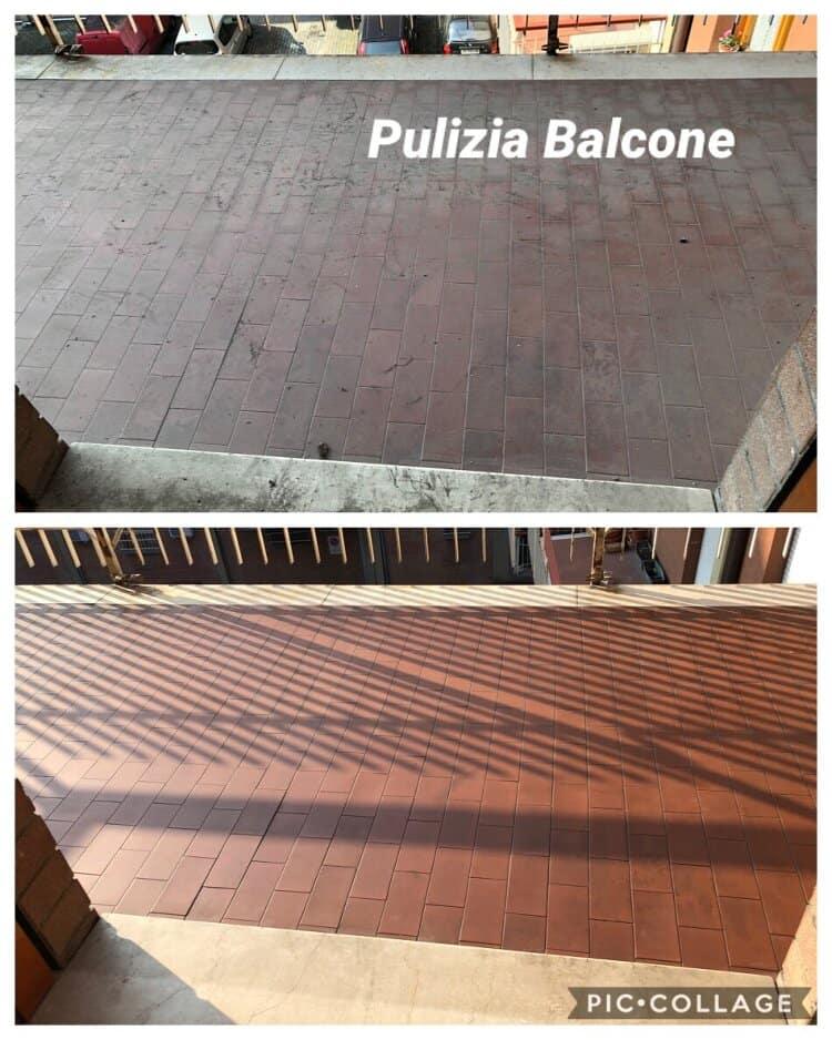 pulizia balcone Valsamoggia