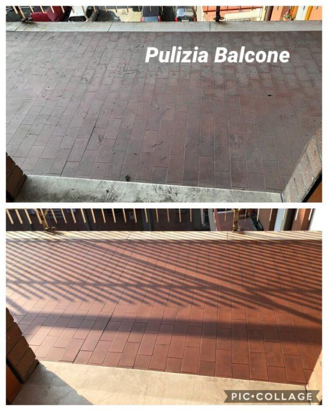 pulizia balcone mirandola