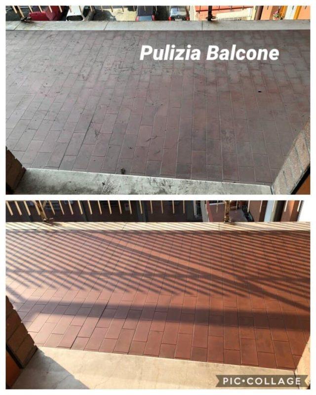 pulizia balcone scandiano