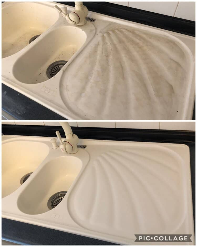 pulizia lavello cucina Valsamoggia