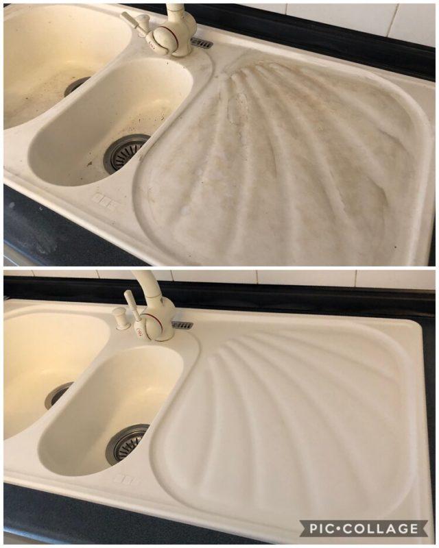 pulizia lavello cucina carpi